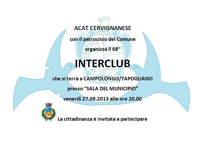 INTERCLUB CAMPOLONGO
